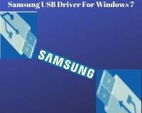 Samsung USB Driver For Windows 7