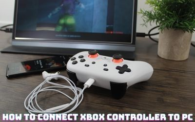 connect Xbox controller to PC
